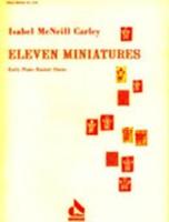 Eleven Miniatures