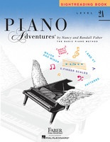 Piano Adventures Level 2A - Sightreading Book