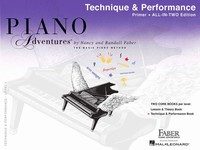 Piano Adventures All-In-Two Primer Level
