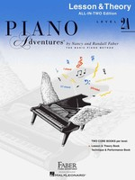 Piano Adventures All-In-Two Level 2A
