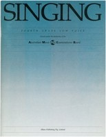 Singing - Fourth Grade Low Voice