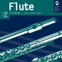Flute Series 2 - CD and Notes Third and Fourth Grades