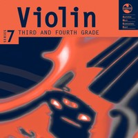 Violin Series 7 - CD and Notes Third and Fourth Grades