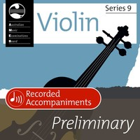 Violin Series 9 Preliminary - Recorded Accompaniments