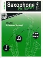 Saxophone For Leisure Grade 3 E Flat Bk/Cd Ser 1