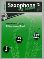 Saxophone For Leisure Prelim B Flat Bk/Cd  Ser 1