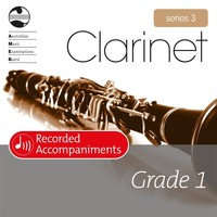 Clarinet Series 3 Grade 1 Recorded Accompaniments