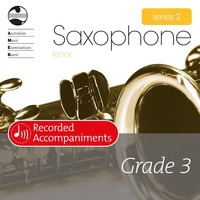 Tenor Sax Series 2 Grade 3 Recorded Accompaniments
