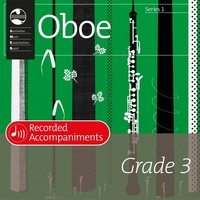 Oboe Series 1 Grade 3 Recorded Accompaniments