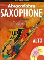 Abracadabra Saxophone 3rd Edition Book + 2CDs