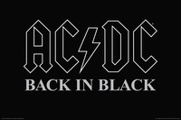 AC/DC - Back in Black - Wall Poster