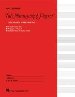 Guitar Tablature Manuscript Paper - Wire-Bound