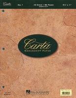 Carta Manuscript Paper No. 1