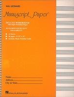 Deluxe Wirebound Super Premium Manuscript Paper