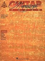 Recorded Versions Guitar Tablature Manuscript Paper
