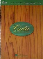 Carta Manuscript Paper No. 10