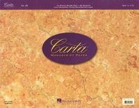 Carta Manuscript Paper No. 25