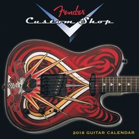 2018 Fender Custom Shop Desk Calendar