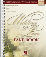 WEDDING AND LOVE FAKE BOOK 5TH EDN