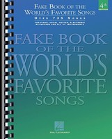 WORLDS FAVORITE SONGS FAKE BOOK
