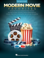 Modern Movie Favorites for Big-Note Piano