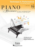 Piano Adventures All-In-Two Level 4-5