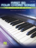 First 50 Four Chord Songs You Should Play on the Piano