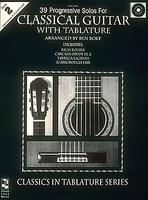 39 Progressive Solos for Classical Guitar