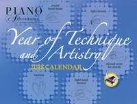 Year of Technique & Artistry 2018 Calendar