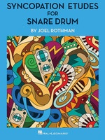 Syncopation Etudes for Snare Drum