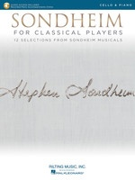 Sondheim for Classical Players - Cello and Piano