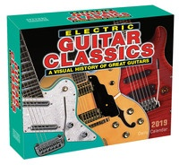 2019 Electric Guitar Classics Daily Desk Calendar