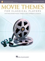 Movie Themes for Classical Players - Violin and Piano