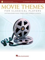 Movie Themes for Classical Players - Clarinet and Piano