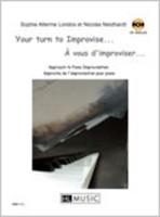 Your Turn To Improvise Bk/Cd