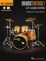 Hal Leonard Drumset Method 1 - Left-Handed Edition