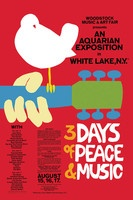 Woodstock Classic Red Wall Poster