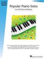 Popular Piano Solos - Level 1