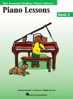 Piano Lessons - Book 4