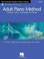 Adult Piano Method Book 1 - Book with Online Audio
