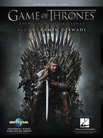 Game of Thrones for Clarinet Solo and Piano