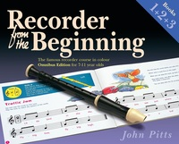 Recorder from the Beginning Books 1, 2 and 3