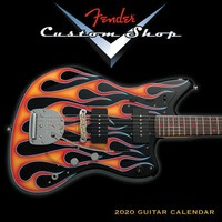 2020 Fender Custom Shop Mini Wall Calendar