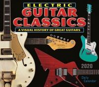 2020 Electric Guitar Classics Daily Desk Calendar
