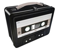 Cassette Tape Gen 2 Lunchbox
