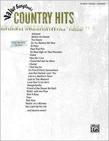 VALUE SONGBOOKS COUNTRY HITS PVG
