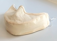 Singer's Mask Adult Size with Elastic Ear Loops Beige
