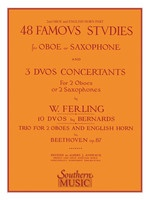 48 Famous Studies and 3 Duos Concertants for Oboe