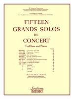 15 Grands Solos de Concert