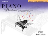 Piano Adventures Primer Level - Lesson Book